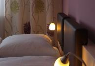 Zimmerdetail Bett